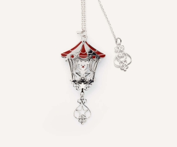 Circo | girocollo in argento rodiato 925 con smalti